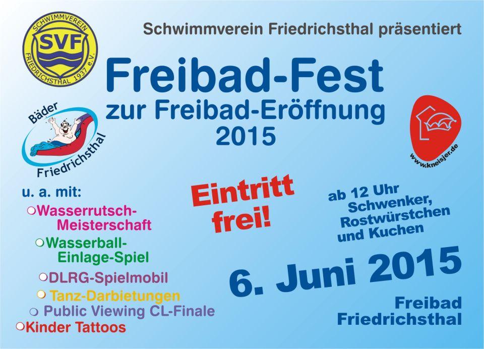 Freibad-Fest 2015
