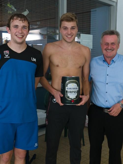 Er schoss die meisten Tore beim Turnier: Torschützenkönig Dirk Feddek vom KSK